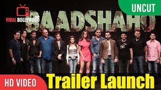 UNCUT - Baadshaho Official Trailer Launch   Ajay Devgn, Emraan Hashmi,, Ileana D'Cruz