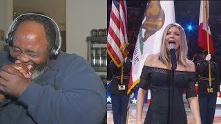 Baixar Dad Reacts to Fergie's National Anthem Draws Criticism!