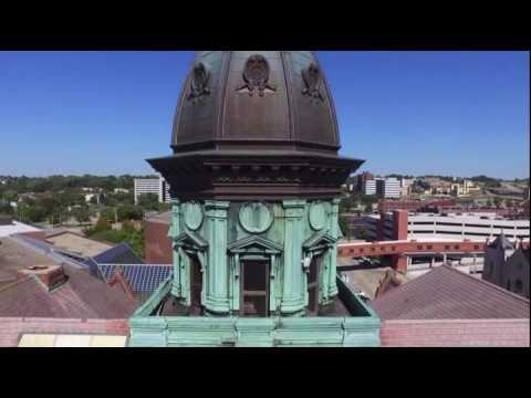 PEORIA ILLINOIS CITY HALL by Illinois Drones FAA Certified