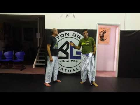 Kali Concept for BJJ #2 - Burton Richardson Silat Technique