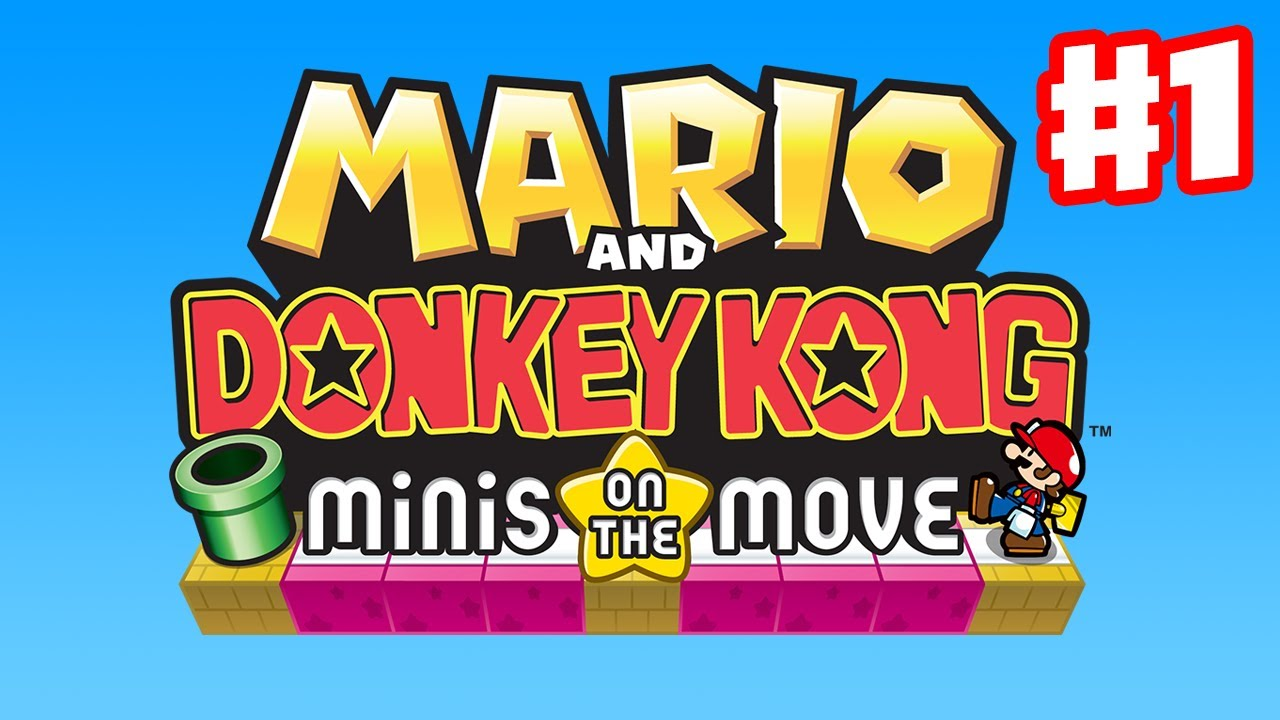 mario and donkey kong minis on the move mario vs donkey kong die r ckkehr der mini marios. Black Bedroom Furniture Sets. Home Design Ideas