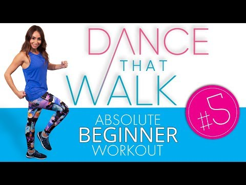 Workout #5 25 Minutes (HALF WAY): 5 Minute to 50 Minute Beginner Walking Workout Series!