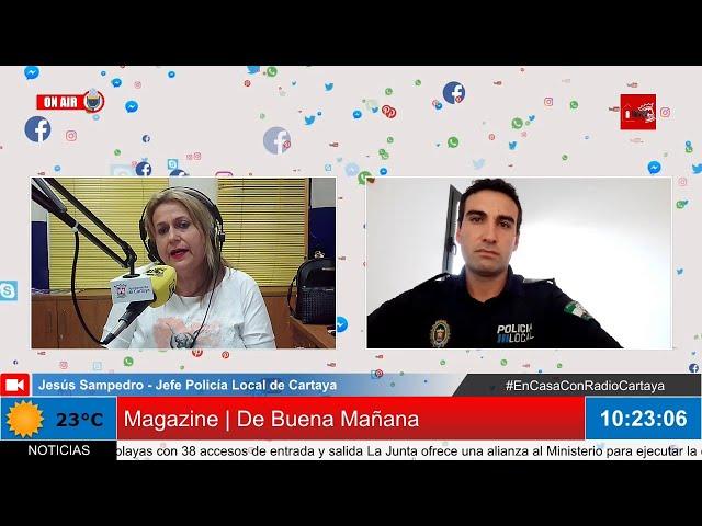 Radio Cartaya | Policía Local y Guardia Civil desactivan una fiesta masiva en la playa