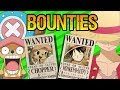 BOUNTIES: How Are They Calculated? - One Piece Theory