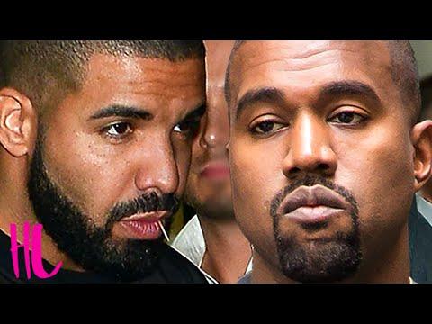 Drake & Kanye West Diss Kid Cudi In New Feud - VIDEO