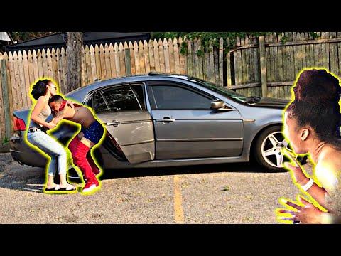 CHEATING PRANK ON HISPANIC GIRLFRIEND WITH BESTFRIEND GONE WRONG (SHE BROKE MY CAR..
