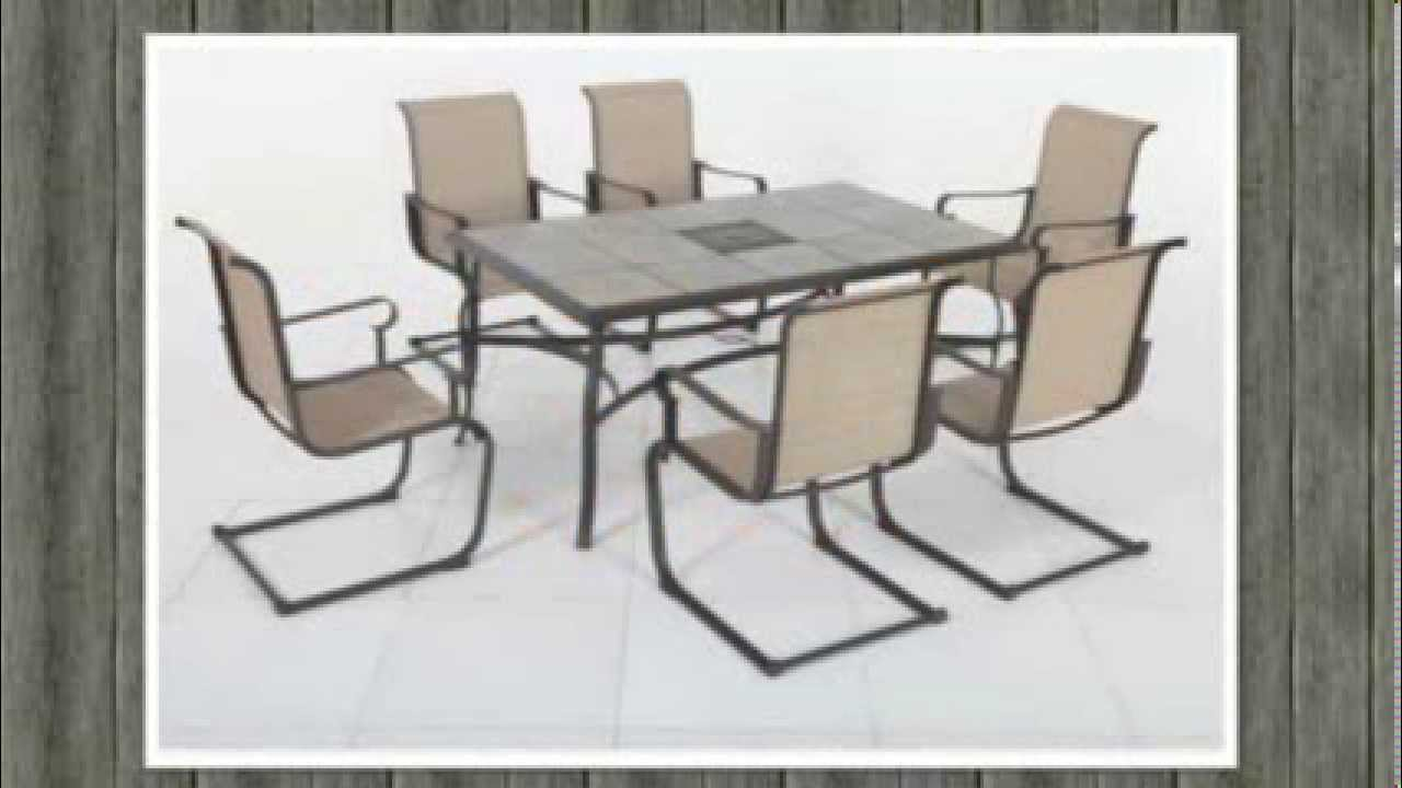 Home Depot Belleville 7 Piece Dining Table YouTube
