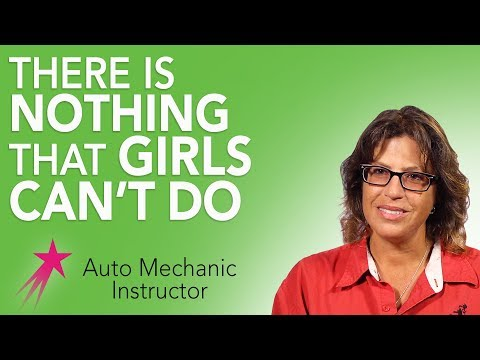Auto Mechanic Instructor: Being a Female Technician - Dorothy Jean Anderson Career Girls