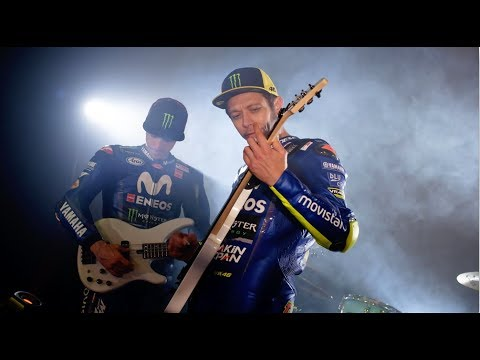 2018 Movistar Yamaha MotoGP Team Presentation - Unveiling The Bikes Video