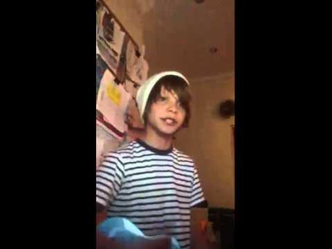 Daniel Huttlestone SingingGrade 8
