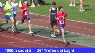 1000m cadetti 26° Trofeo dei Laghi 11 giugno 2017 Mariano Comense