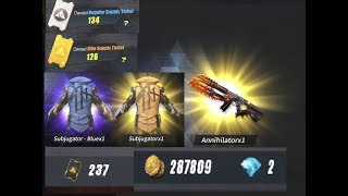 Rules of Survival - Spending 300k GOLD (Almost), 237 Advance Tickets, 260 Regular Supply