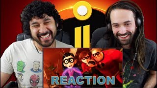 INCREDIBLES 2 Official TRAILER REACTION!!!