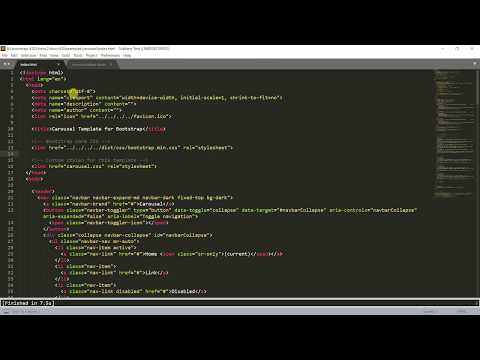 How To Open Html In Browser Shortcut(Ctrl+B) Key In Sublime Text