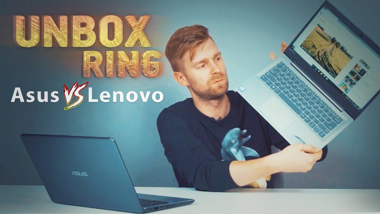 Kompiuteriai darbui ir mokslui | Asus VS Lenovo | Unbox Ring || Laisvės TV X