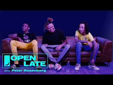 YBN Nahmir, YBN Cordae and YBN Almighty Jay Join Open Late   Open Late with Peter Rosenberg