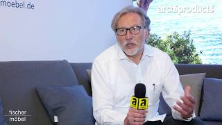Salone del Mobile.Milano 2017 | FISCHER MOEBEL - Thomas Kirn ci racconta il nuovo sistema di divani