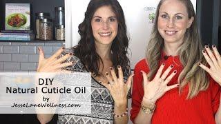 DIY Natural Cuticle Oil