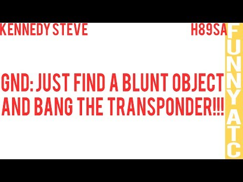 KENNEDY STEVE: BANG THE TRANSPONDER!