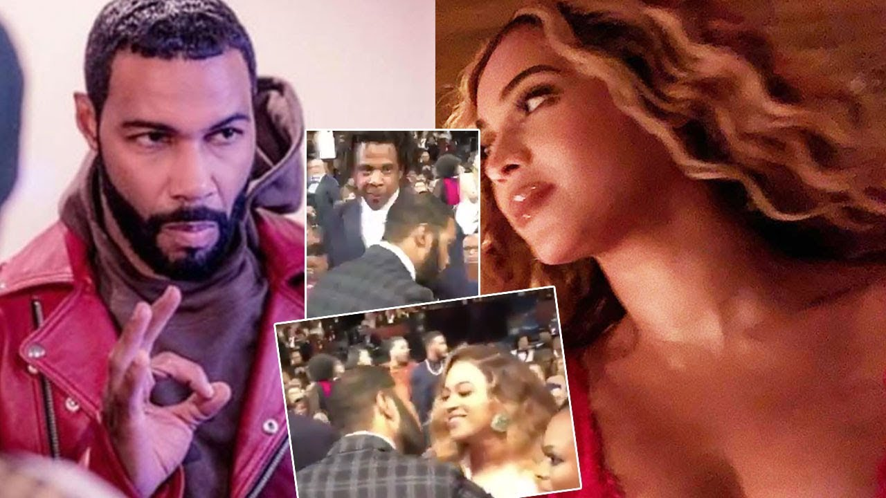 best website c036c 0fd22 Omari Hardwick KISSED Beyoncé on the LIPS, right IN FRONT of ...