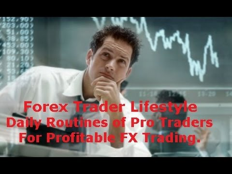 Daily routine of a forex trader