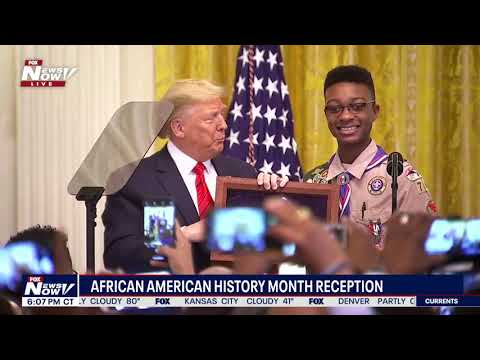 CELEBRATING AFRICAN AMERICANS: President & First Lady Hold Reception For History Month