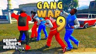 GTA 5 ONLINE - GANG WAR 9 SEASON 2 THANKSGIVING | Bloods vs Crips