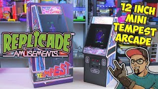 Tempest Mini Arcade Review! New Wave Toys Replicade!