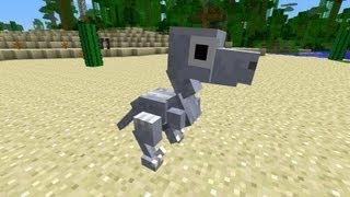 Minecraft Dinosaurs - Part 33 - Baby Velociraptor!