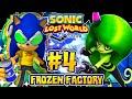 Sonic Lost World PC 2K 60FPS Part 4 JET SET SONIC MOD in Frozen Factory