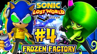 Sonic Lost World PC - (2K 60FPS) Part 4 - JET SET SONIC MOD in Frozen Factory
