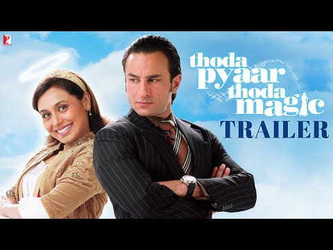Thoda Pyaar Thoda Magic | Official Trailer | Saif Ali Khan | Rani Mukerji | Ameesha Patel