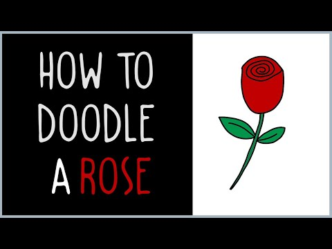 How to draw a rose (drawing tips)