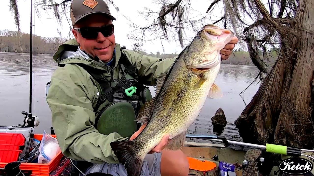 Kayak Bass Fishing Caddo Lake Kayak Bass Fishing National Championship 2019 Ketch Team Youtube
