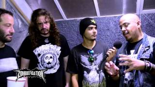 INTERVIEW ZOMBIEFICATION & ALFA ERIDIANO AKHENAR WITH HELL YEAH METAL RADIO SHOW