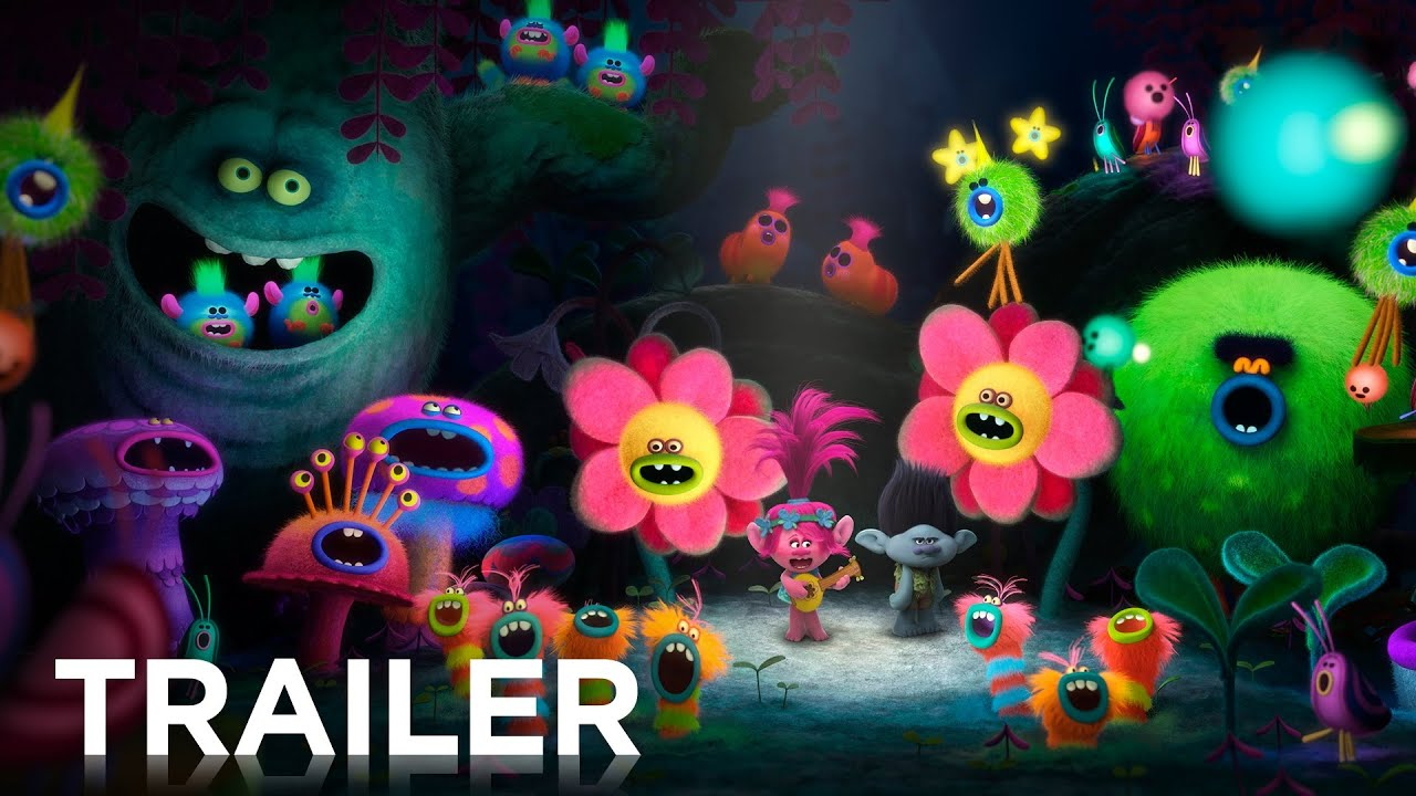 Dreamworks Trolls Official Hd Trailer 2 2016 Youtube