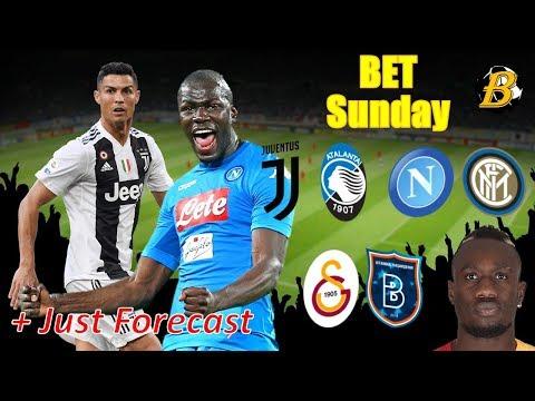 NAPOLI - INTER, JUVENTUS - ATALANTA / FOOTBALL PREDICTIONS TODAY 19.05.2019