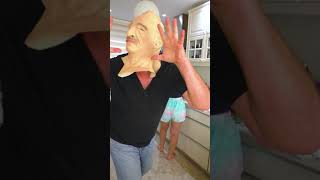 Who is more scared? #shorts Funny Tiktok video by Tiktoriki