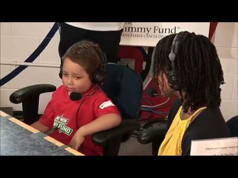Yasser Farahat along with Nahomie Johnson with K&C at 2017 Jimmy Fund Radio-Telethon
