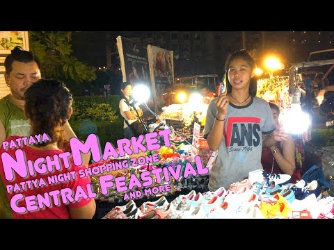 Pattaya Night Market (Central Festival & more)