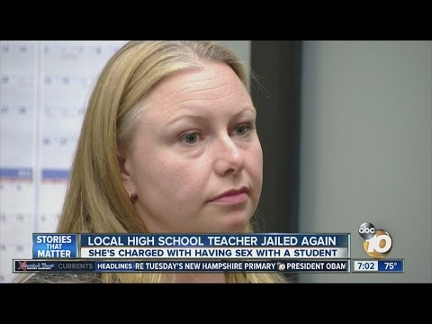 Local high school teacher accused of sex with student jailed again