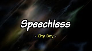Speechless - City Boy (KARAOKE)