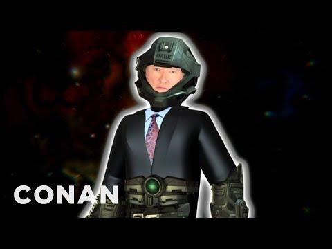 Conan O'Brien's 'Halo 4' Voiceover Remote - CONAN on TBS