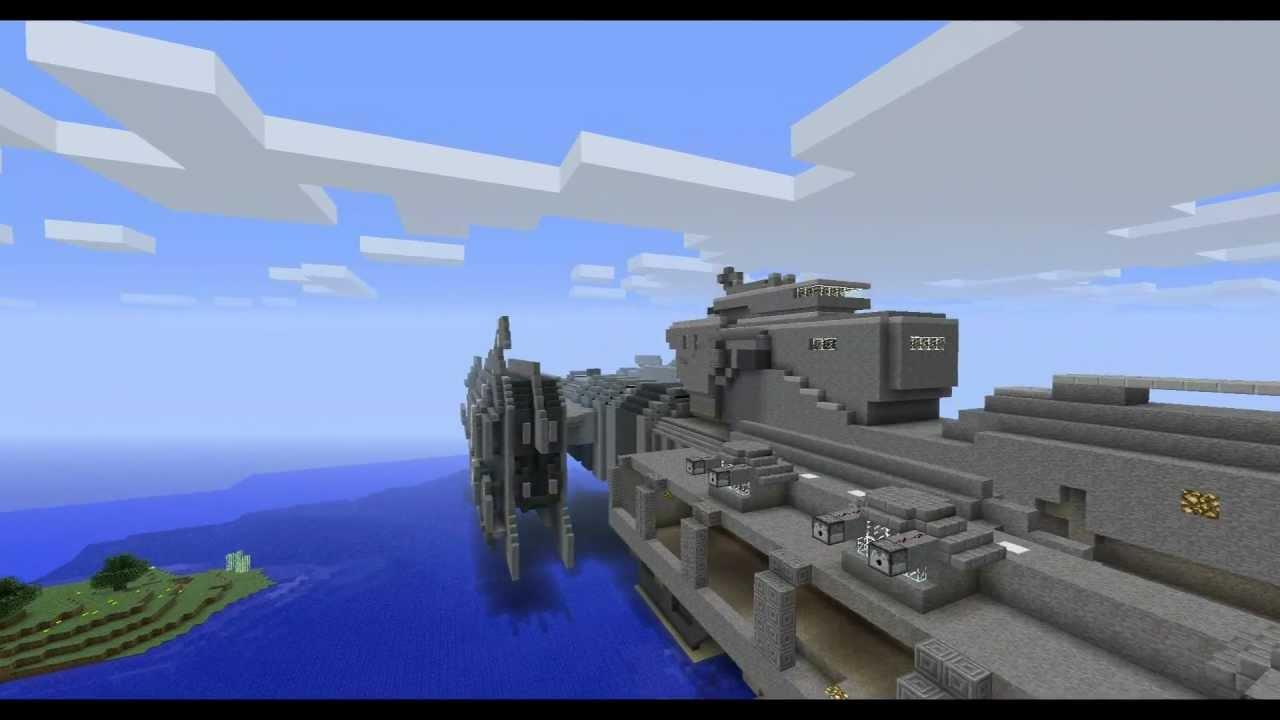 Minecraft Halo Frigate YouTube