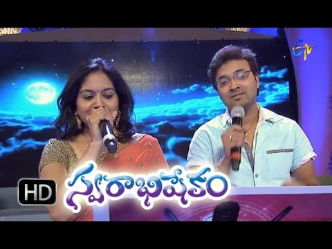Ekantha Vela Song - Sunitha,Srikrishna Performance in ETV Swarabhishekam - 11th Oct 2015