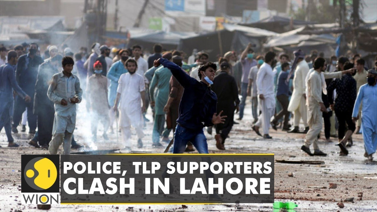Download Pakistan: TLP members damage public property, clash with security forces in Lahore | English News