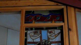 Обзор настоящего витража от Дачного мастера