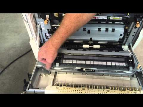 Xerox Workcentre Replace Second Bias Transfer Roller 7120