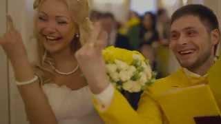 Желтая свадьба #РомаЛена14февраля2015