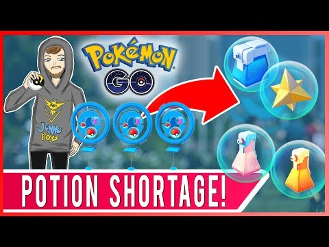 POTION SHORTAGE PART 2! How To Play Pokemon GO With No Potions! Pokemon GO Pro Tips